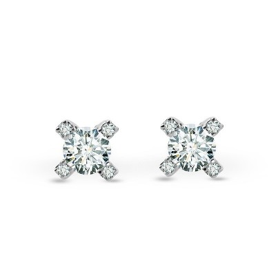Cornerstones™ Stud Solitaire Earrings