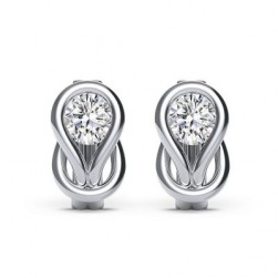 Encordia™ Solitaire Stud Earrings