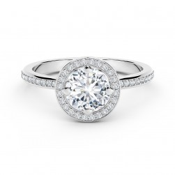 Forevermark Setting™ Circlet Pavé Ring