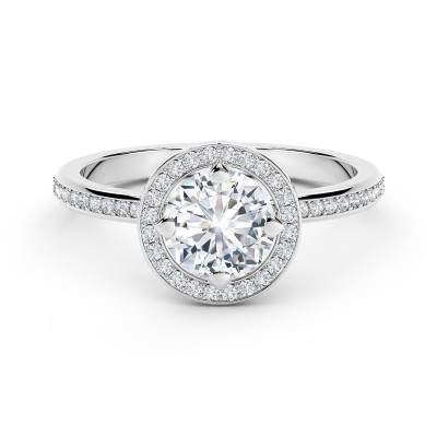 Forevermark Setting™ Circlet Pavé Ring