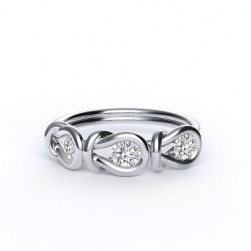 Encordia™ Eternity Ring (3 stones)