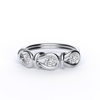 Encordia™ Eternity Gyűrű (3 köves)