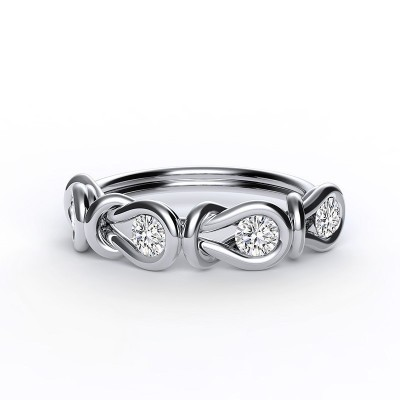 Encordia™ Eternity Ring (4 stones)