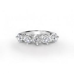 Forevermark Setting Five Stone Ring