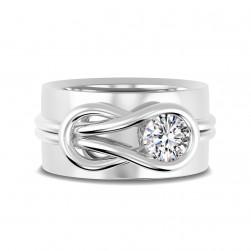 Encordia™ Szoliter Band Gyűrű