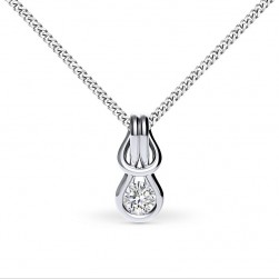 Encordia™ Solitaire Pendant